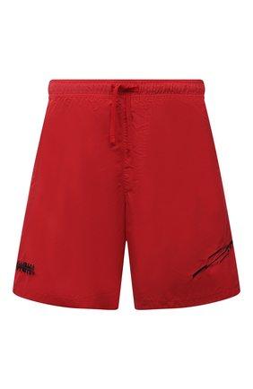 Мужские плавки-шорты STONE ISLAND SHADOW PROJECT красного цвета, арт. 7419B0105   Фото 1