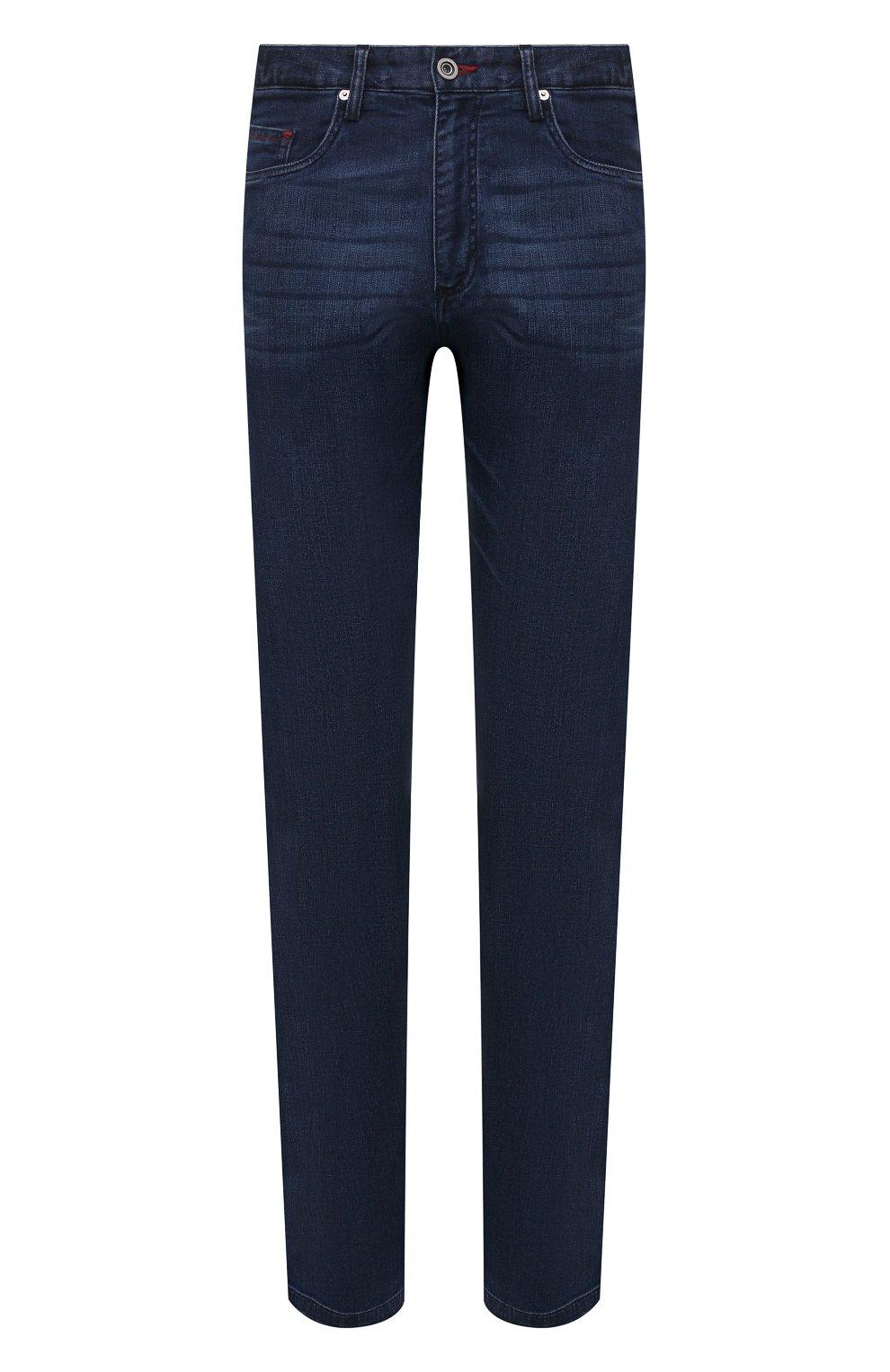 Мужские джинсы PAUL&SHARK синего цвета, арт. 21414196R/DUI | Фото 1