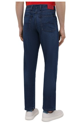 Мужские джинсы PAUL&SHARK синего цвета, арт. 21414196R/DUI | Фото 4
