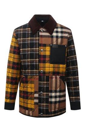 Мужская утепленная куртка BURBERRY разноцветного цвета, арт. 8038569 | Фото 1
