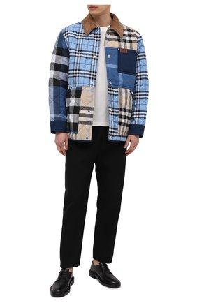 Мужская утепленная куртка BURBERRY разноцветного цвета, арт. 8038568 | Фото 2