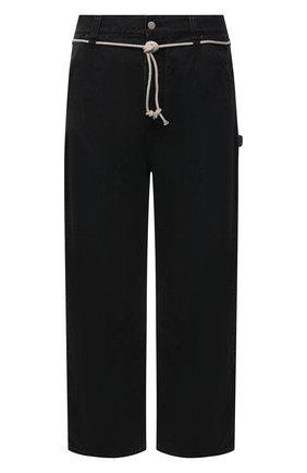 Мужские джинсы AMBUSH черного цвета, арт. BMYA010S21DEN001 | Фото 1