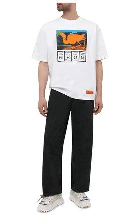 Мужские джинсы AMBUSH черного цвета, арт. BMYA010S21DEN001 | Фото 2