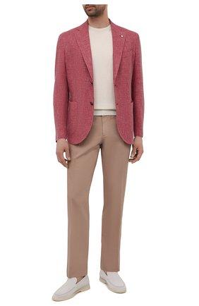 Пиджак из шерсти и льна | Фото №2