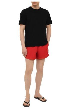 Мужские плавки-шорты OFF-WHITE красного цвета, арт. 0MFA003S21FAB001   Фото 2