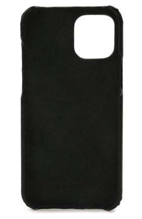 Чехол для iphone 12 pro max VALENTINO черно-белого цвета, арт. WY2P0T10/LVN | Фото 2