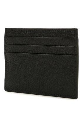 Мужской кожаный футляр для кредитных карт valentino garavani VALENTINO черного цвета, арт. WY2P0S49/VXY | Фото 2
