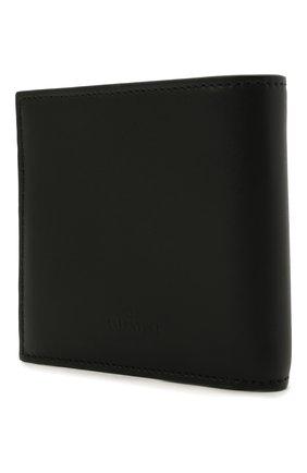 Мужской кожаное портмоне valentino garavani VALENTINO черно-белого цвета, арт. WY2P0654/LVN | Фото 2