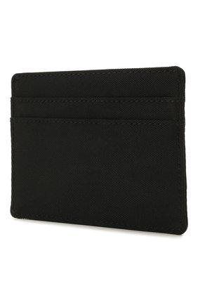Мужской текстильный футляр для кредитных карт DSQUARED2 черного цвета, арт. CCM0006 11701317 | Фото 2