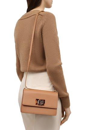 Женская сумка furla 1927 mini FURLA коричневого цвета, арт. BACHACO/SLL000   Фото 2