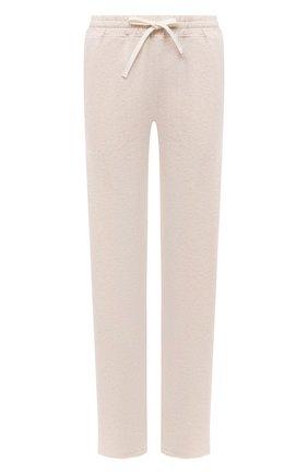 Женские хлопковые брюки EVA B.BITZER бежевого цвета, арт. 11322968   Фото 1