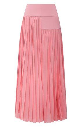 Женская плиссированная юбка BOSS розового цвета, арт. 50453503 | Фото 1