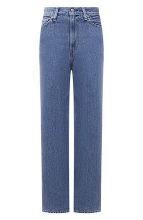 Женские джинсы ganni x levi's GANNI голубого цвета, арт. F6090 | Фото 1