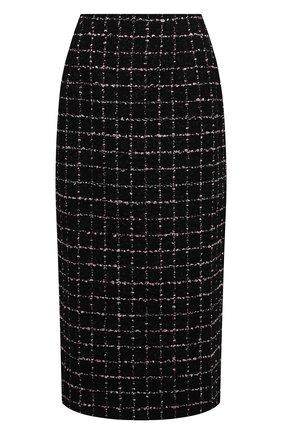 Женская юбка ALESSANDRA RICH черно-белого цвета, арт. FAB1817-F3170   Фото 1
