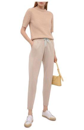 Женские брюки FTC бежевого цвета, арт. 826-0530   Фото 2