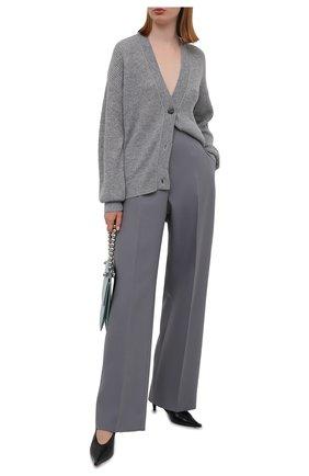 Женский кашемировый кардиган FTC серого цвета, арт. 830-0200   Фото 2