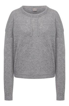 Женский кашемировый пуловер FTC серого цвета, арт. 830-0570   Фото 1