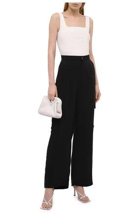 Женские брюки из вискозы 5PREVIEW черного цвета, арт. 5PW21103 | Фото 2
