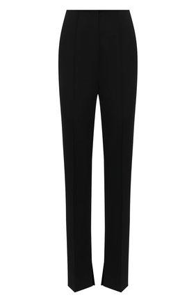 Женские брюки NANUSHKA черного цвета, арт. VERA_BLACK_SUMMER SUITING | Фото 1