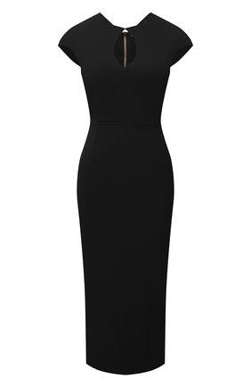 Женское платье ROLAND MOURET черного цвета, арт. SS21/S2270/F2196 | Фото 1