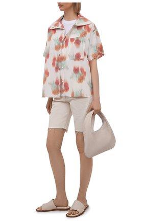 Женские джинсовые шорты RAG&BONE бежевого цвета, арт. WDD21S1908X7EC | Фото 2
