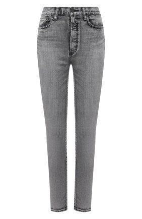 Женские джинсы MOUSSY серого цвета, арт. 025ESC12-2590 | Фото 1