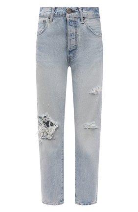 Женские джинсы MOUSSY голубого цвета, арт. 025ESC11-2410 | Фото 1
