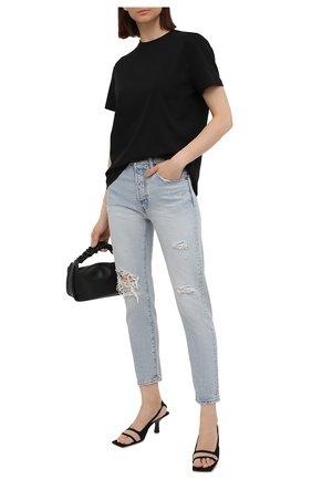 Женские джинсы MOUSSY голубого цвета, арт. 025ESC11-2410 | Фото 2