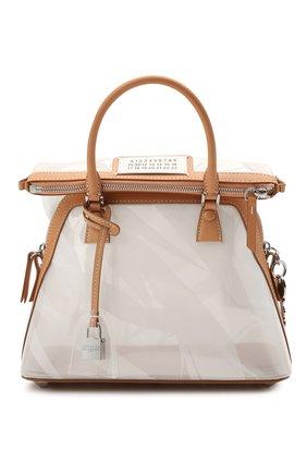 Женская сумка 5ac mini MAISON MARGIELA прозрачного цвета, арт. S56WG0082/PS721   Фото 1