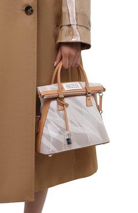 Женская сумка 5ac mini MAISON MARGIELA прозрачного цвета, арт. S56WG0082/PS721   Фото 2