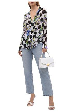 Женская блузка из вискозы OFF-WHITE разноцветного цвета, арт. 0WGA095S21FAB001 | Фото 2