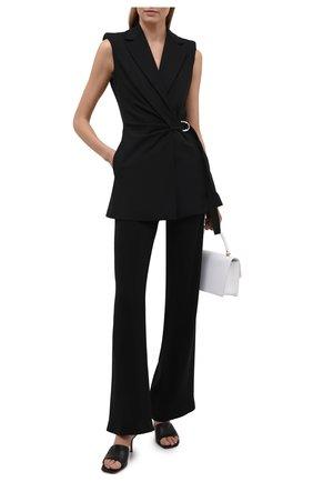 Женский жилет OFF-WHITE черного цвета, арт. 0WEF070S21FAB002 | Фото 2