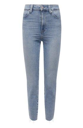 Женские джинсы PAIGE голубого цвета, арт. 6607E77-3173 | Фото 1