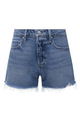 Женские джинсовые шорты PAIGE голубого цвета, арт. 6041I07-4324 | Фото 1