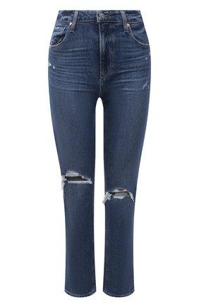 Женские джинсы PAIGE синего цвета, арт. 5673B61-4725 | Фото 1