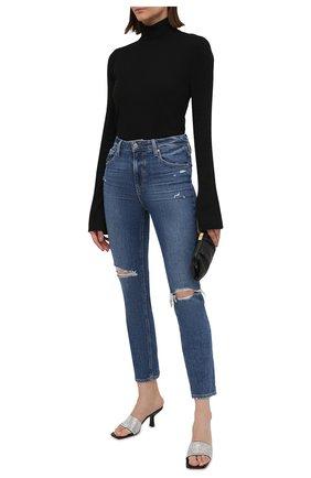 Женские джинсы PAIGE синего цвета, арт. 5673B61-4725 | Фото 2