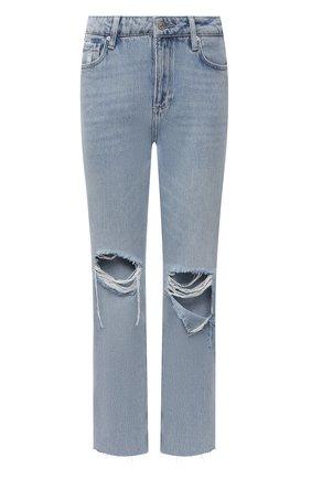 Женские джинсы PAIGE голубого цвета, арт. 4287I07-3148 | Фото 1