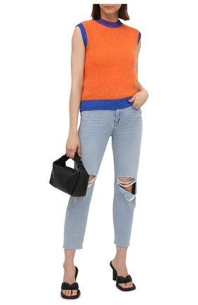 Женские джинсы PAIGE голубого цвета, арт. 4287I07-3148 | Фото 2