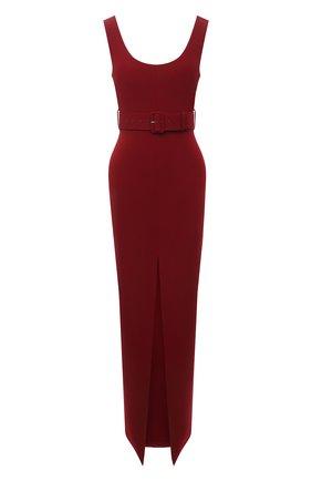 Женское платье SOLACE бордового цвета, арт. 0S1135 | Фото 1