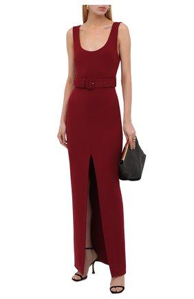 Женское платье SOLACE бордового цвета, арт. 0S1135 | Фото 2