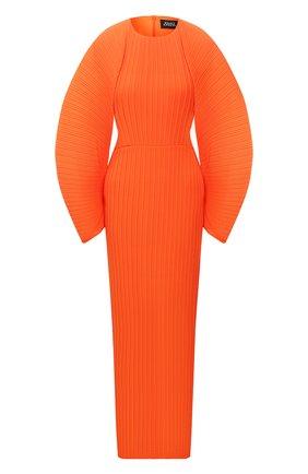 Женское платье SOLACE оранжевого цвета, арт. 0S21061 | Фото 1