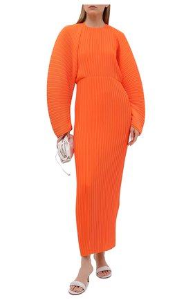 Женское платье SOLACE оранжевого цвета, арт. 0S21061 | Фото 2