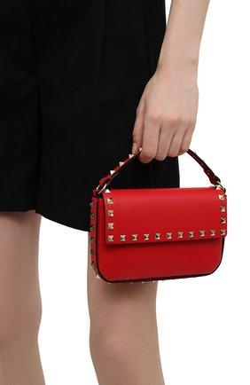 Женская сумка rockstud VALENTINO красного цвета, арт. VW0P0W07/B0L | Фото 2