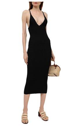Женские кожаные мюли marivodou 55 CHRISTIAN LOUBOUTIN черного цвета, арт. 1210524/MARIV0D0U 55 | Фото 2
