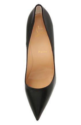 Женские кожаные туфли so kate 120 CHRISTIAN LOUBOUTIN черного цвета, арт. 3160759/S0 KATE 120   Фото 5