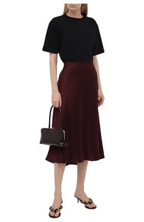 Женская юбка-миди ESCADA бордового цвета, арт. 5032905 | Фото 2