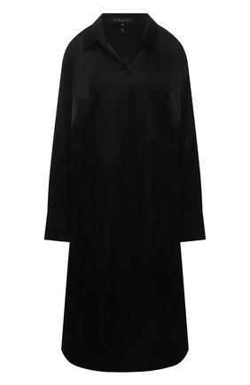 Женская сорочка ESCADA черного цвета, арт. 5035622 | Фото 1