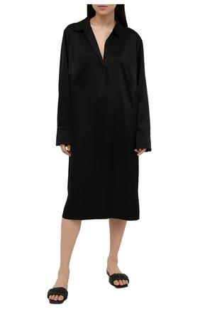 Женская сорочка ESCADA черного цвета, арт. 5035622 | Фото 2