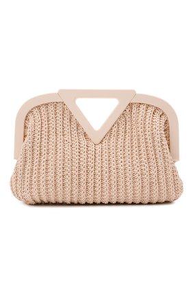 Женская сумка medium point BOTTEGA VENETA светло-розового цвета, арт. 658655/V0T21 | Фото 1