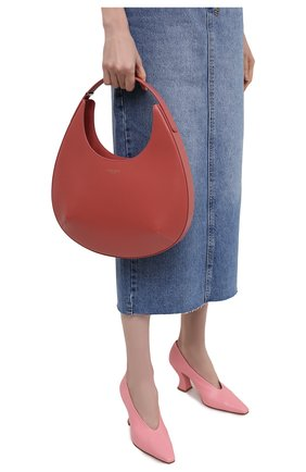 Женская сумка GIORGIO ARMANI розового цвета, арт. Y1E177/YTF4A   Фото 2